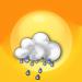 Bewölkt mit Regenschauern
