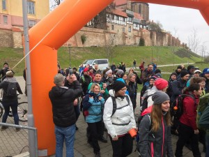Start an der Petrischanze